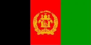 National flag: Afghanistan