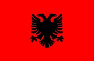 National flag: Albania