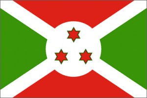 National flag: Burundi
