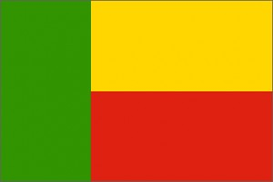 National flag: Benin