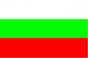 National flag: Bulgaria