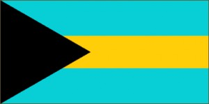 National flag: Bahamas