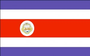 National flag: Costa Rica