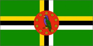 National flag: Dominica