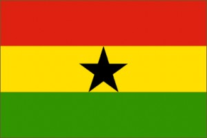 National flag: Ghana