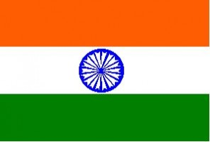National flag: India