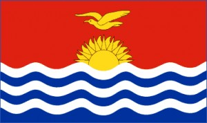 National flag: Kiribati