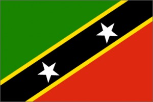 National flag: Saint Kitts and Nevis