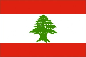 National flag: Lebanon
