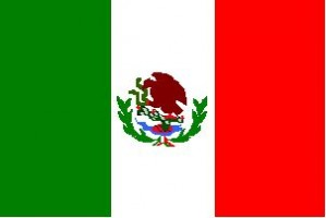 National flag: Mexico