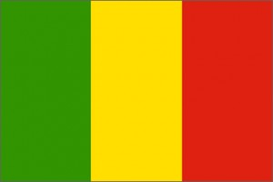 National flag: Mali