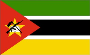 National flag: Mozambique