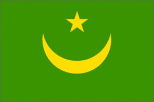 National flag: Mauritania
