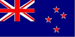 National flag: New Zealand