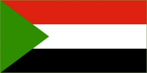 National flag: Sudan