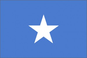 National flag: Somalia