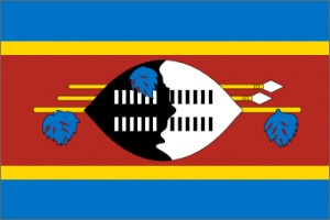 National flag: Swaziland