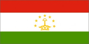 National flag: Tajikistan