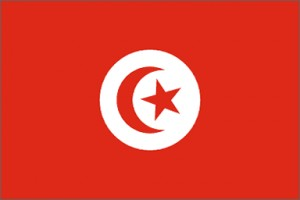 National flag: Tunisia