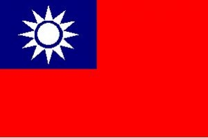 National flag: Taiwan, Province of China