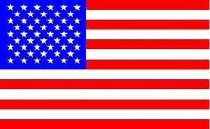 National flag: United States of America