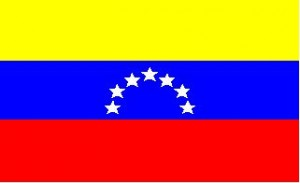 National flag: Venezuela