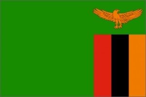 National flag: Zambia