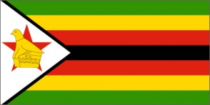 National flag: Zimbabwe